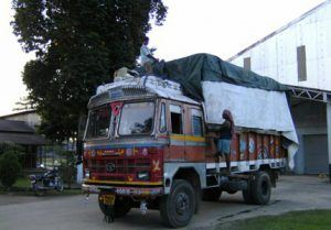 lkw-tee-transport-indien