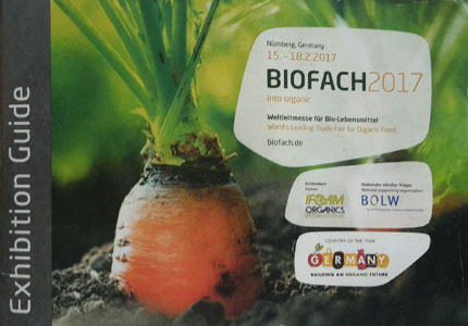 Biofach 2017 Trade Fair Exhibition Guide